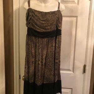 Soma XXL strapless ( or straps) dress.